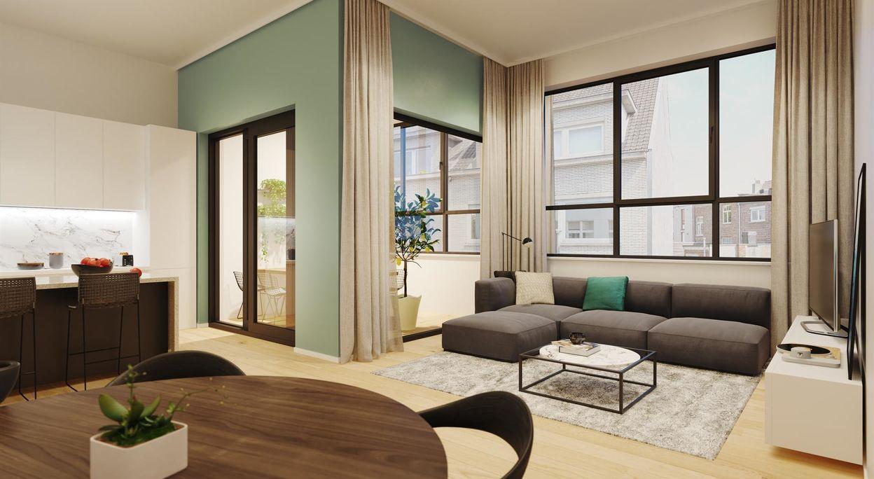 Gelijkvloerse verdieping te koop in Gent